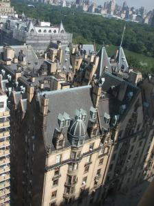 ダコタハウスを上から撮影