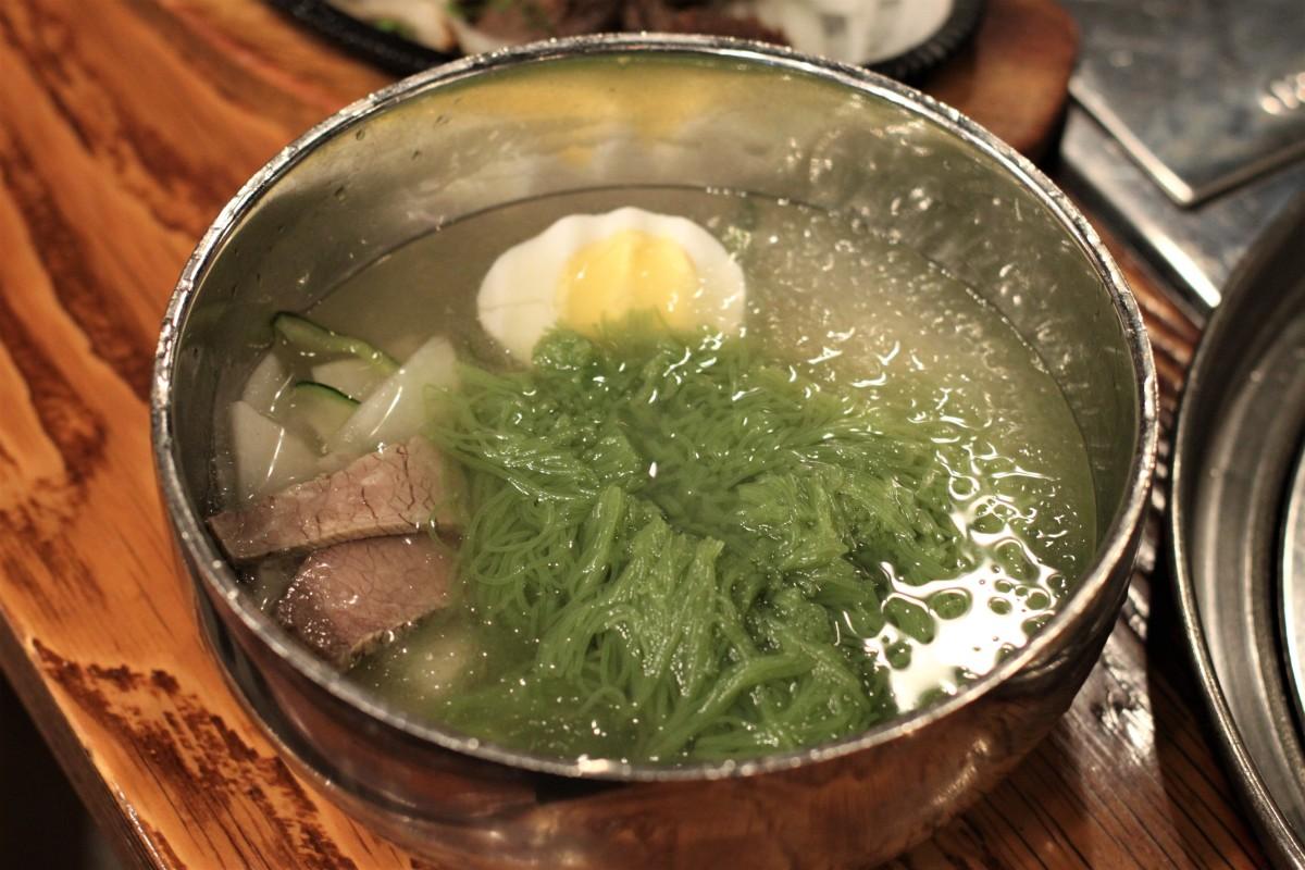 ニューヨークOLランチ事情: Jongroで絶品の水冷麺(コリアンタウン)