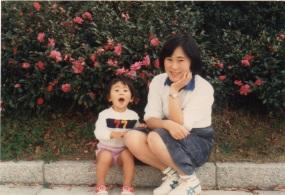 左CHOCOさんお母さま右